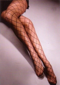 Pantyhose 20 den fashionable fake net Luisella 816