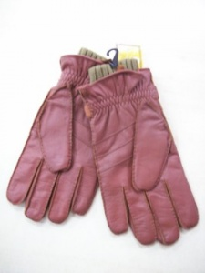 Man gloves goat skin